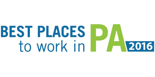 Best Places to work in PA 2016